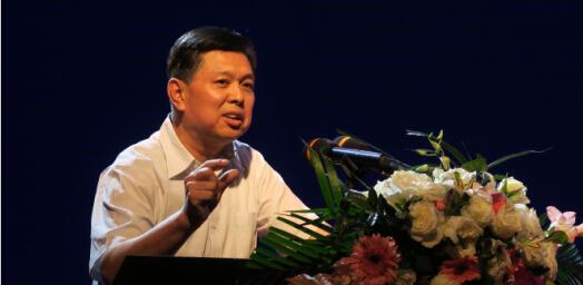 中國建筑業協會會長王鐵宏做主旨報告