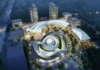 中建钢构助力三门峡市民中心标志性项目