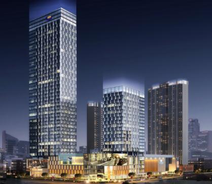 江西首个全钢结构超高层建筑工程花落中建钢构