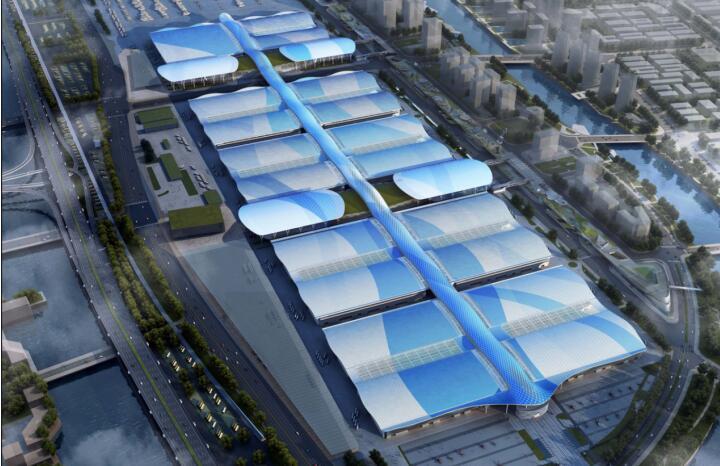 中构新材承接深圳国际会展中心楼承板