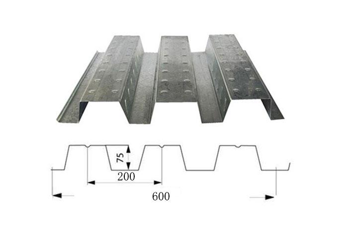 莆田楼承板YX75-200-600厂家价格