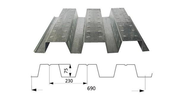 莆田楼承板YX75-230-690厂家价格