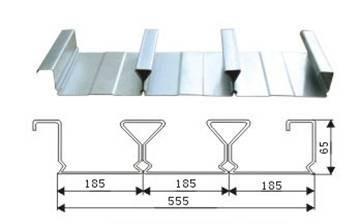 莆田YXB65-185-555楼承板价格