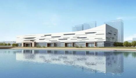 """中构新材承接""""数字中国会展中心""""项目楼承板"""