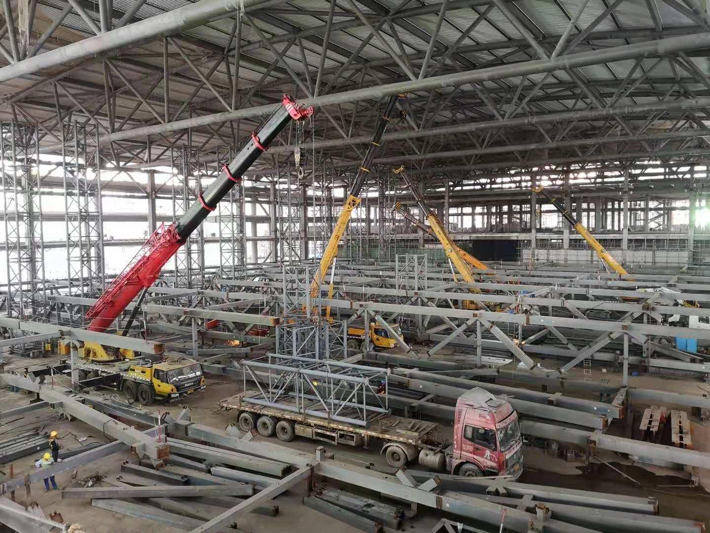 35天!一万吨! 他们打造深圳国际会展中心钢结构安装速度最快的单体展厅