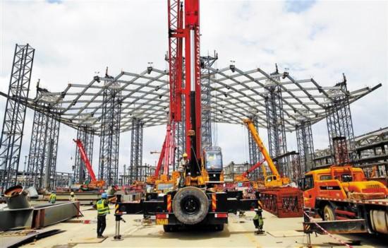 深圳国际会展中心主要场馆9月封顶