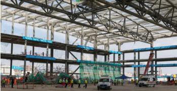 2018年深圳市建筑工程脚手架坍塌事故应急演练
