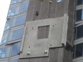 从外墙吊装看钢结构住宅的门道
