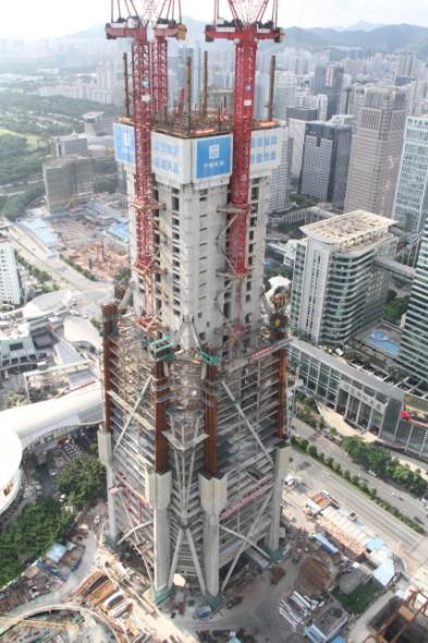据悉,深圳平安金融中心为在建世界第二,国内        ,不久将突破200米