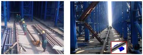 某铝业堆垛机轨道安装施工技术-资料下载-安徽钢结构
