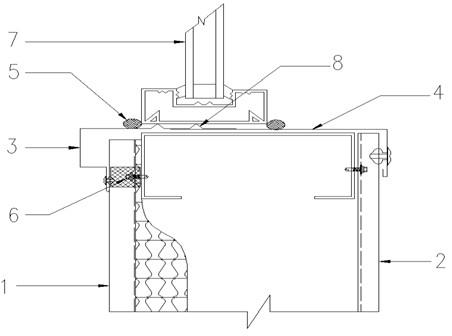 实现防水刚性化的新型钢结构建筑围护系统