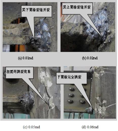 钢结构网首页 -> 钢框架缺陷型箱形柱梁柱节点抗震性能的试验研究 ->